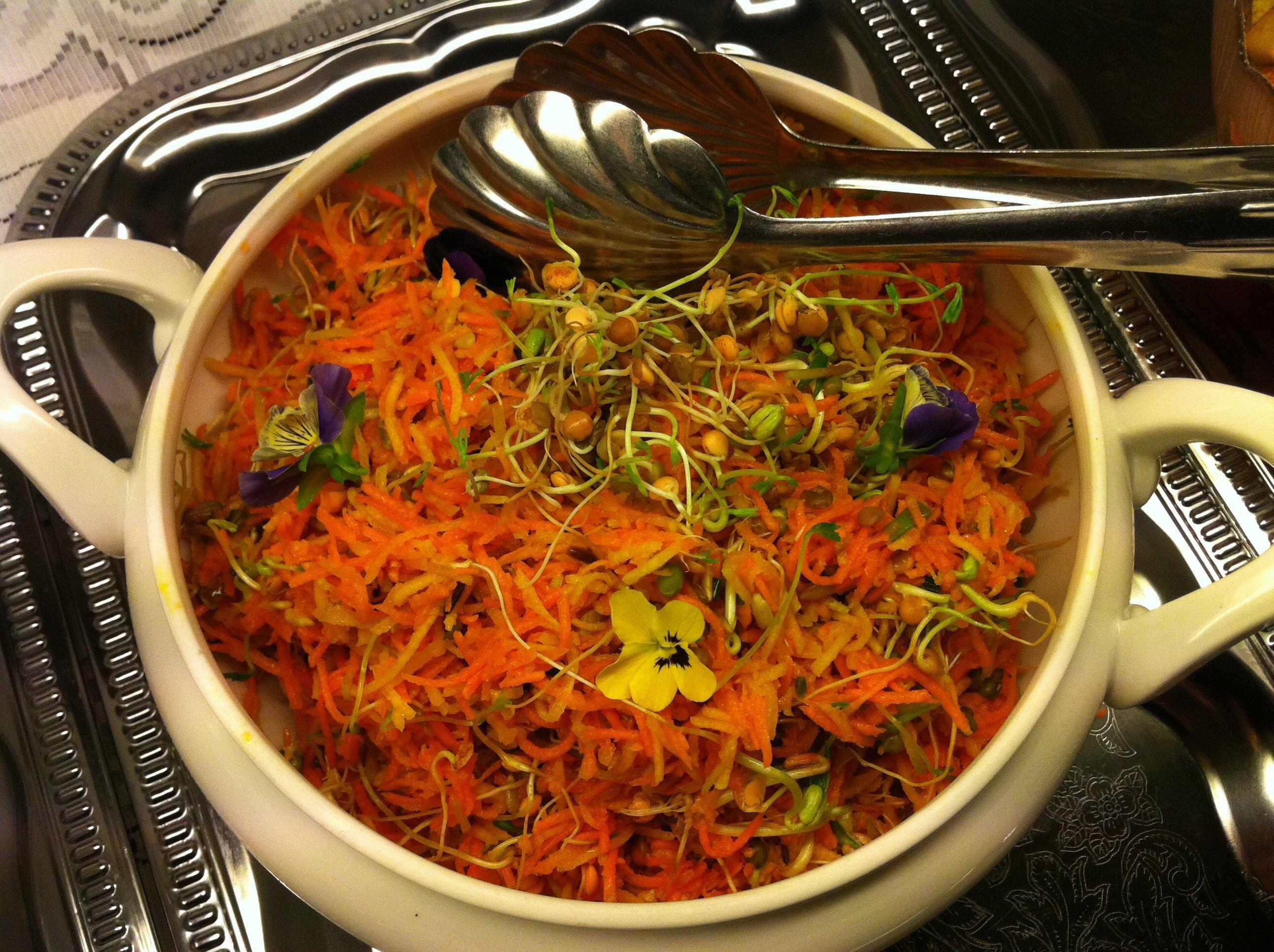 Karotten-Zeller-Salat