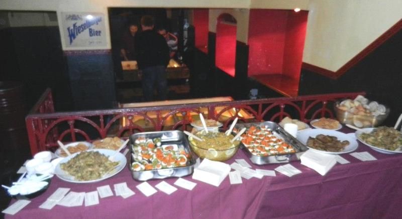 werbe-buffet-beim-matatu-konzert