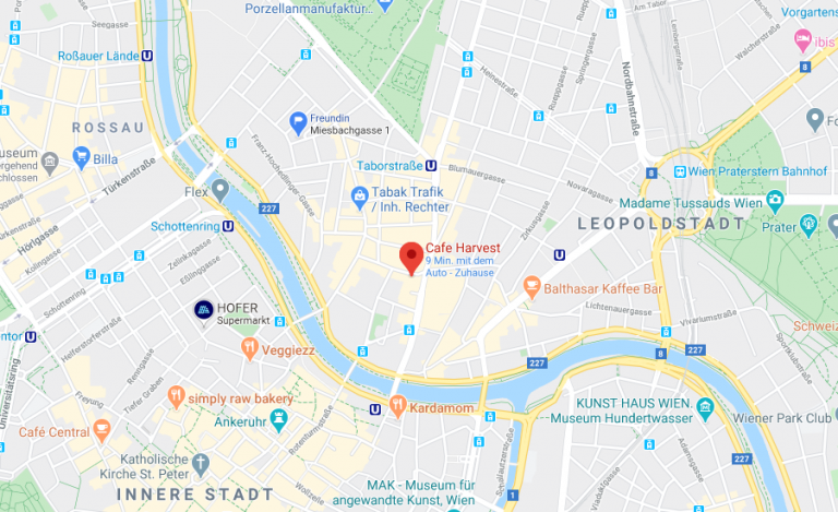 Picture of google maps location